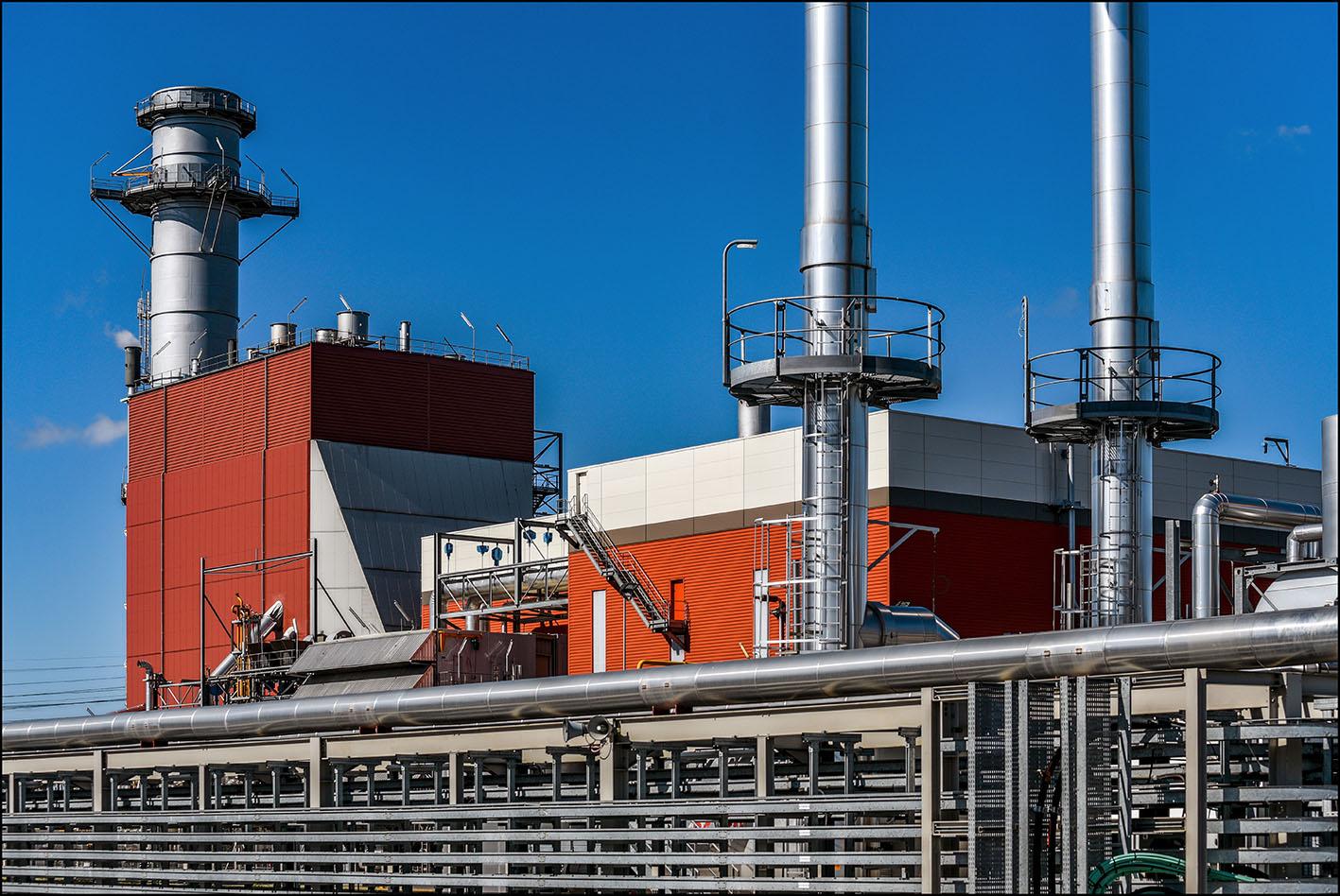 COM EDF, centrale thermique de Bouchain.