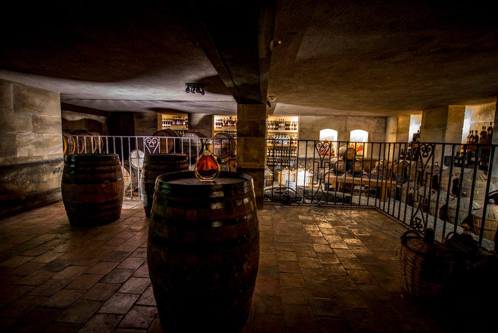 Cognac Courvoisier_Chai Paradis c_Courvoisier