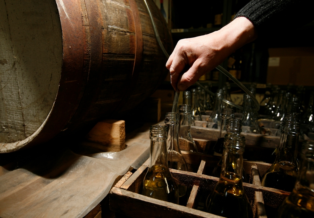 Distillerie Lehmann_mise en bouteille whisky