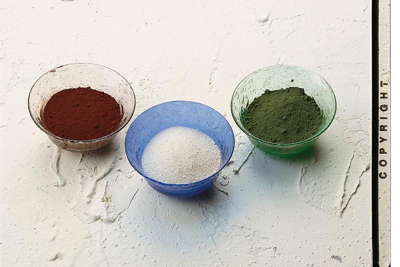 Verrerie de Biot pigments