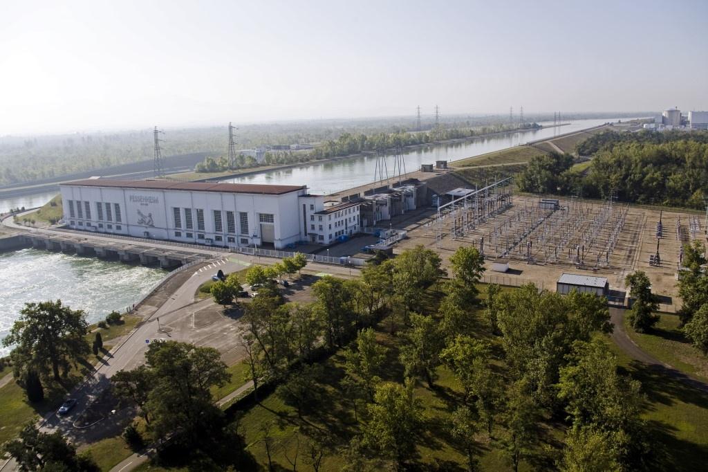EDF centrale hydro de Fessenheim c_Didier Marc