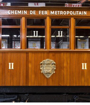 LE PATRIMOINE ROULANT DE LA RATP (visites temporairement suspendues)
