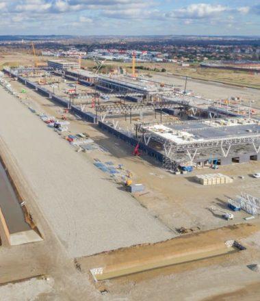 LE CHANTIER DU MEETT – Futur Parc des Expositions et Centre de Conventions de Toulouse Métropole